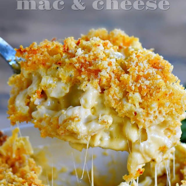 The BEST Homemade Baked Mac and Cheese Recipe | Yummly