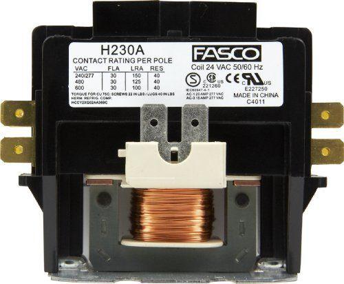 Fasco H230a 2p 30a 24