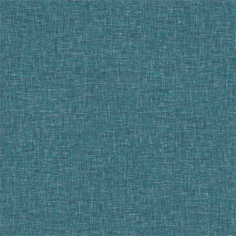 Arthouse Linen Texture Plain Textured Teal Wallpaper