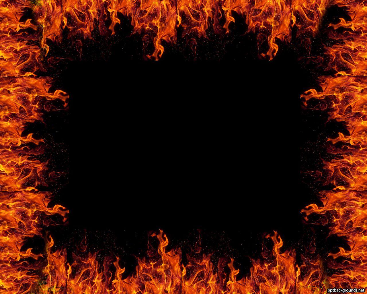 Fire Border with Flames   YAZI FONLARI 2   Pinterest