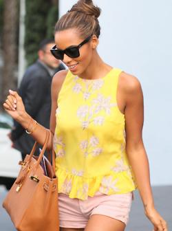 Rochelle in yellow