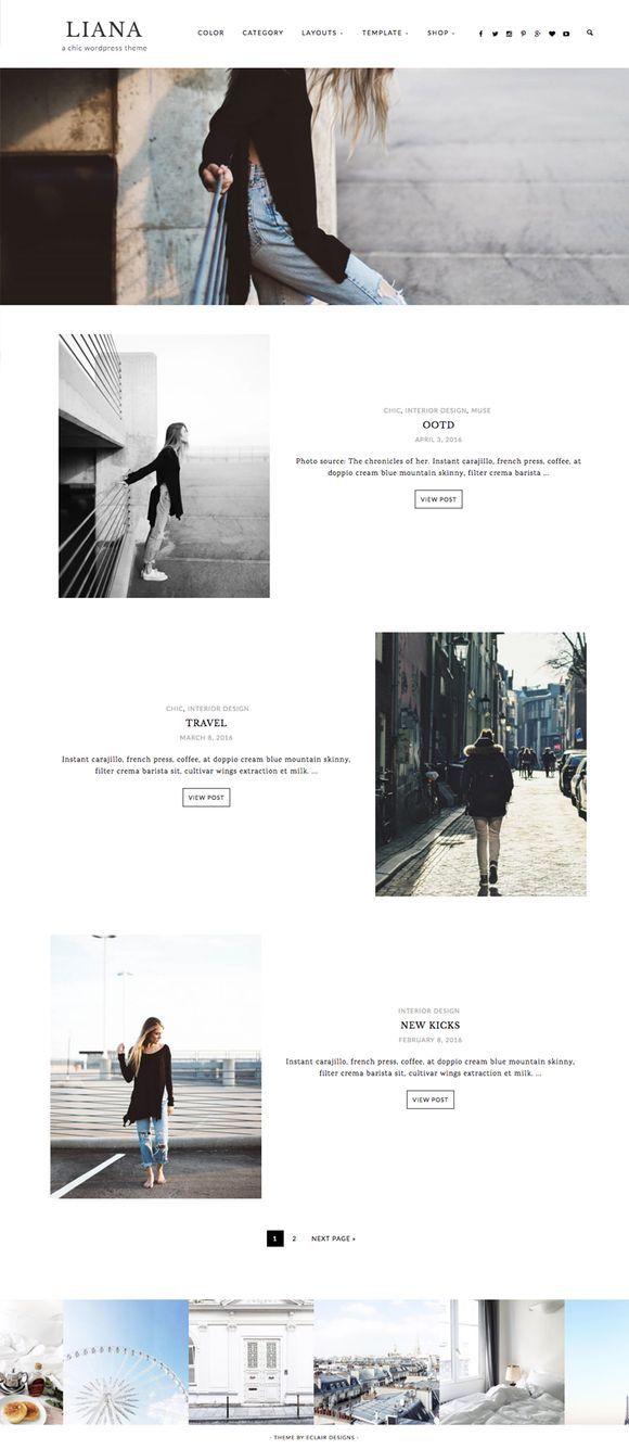 Liana - Wordpress theme