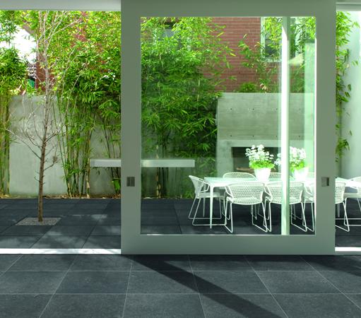 limestone midnight tiles 6 | Extension | Pinterest | Outdoor tiles ...