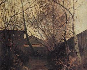 Alexei Savrasov   Alley - Aleksey Savrasov , c.1870
