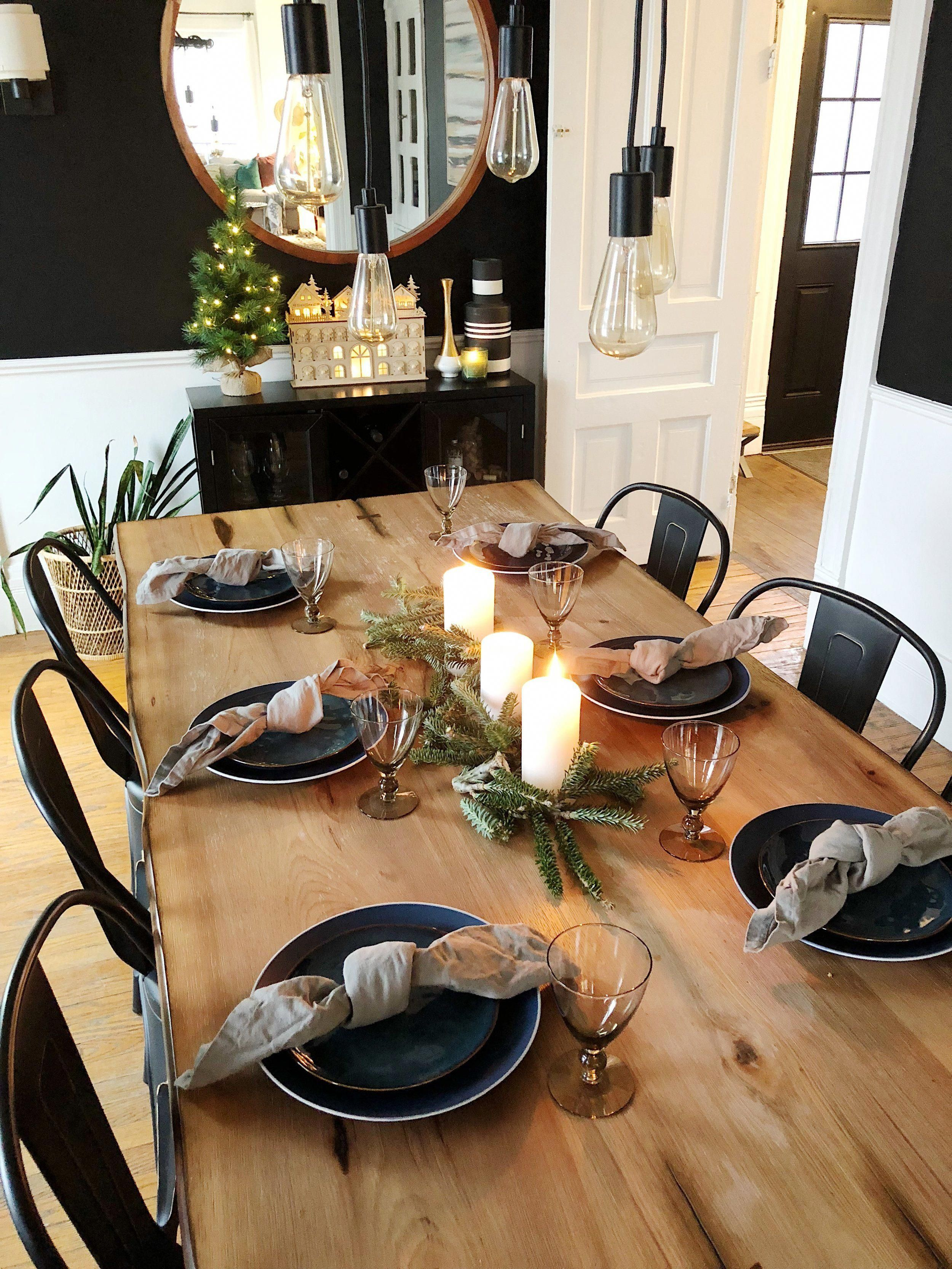 Top 12 Ideas De Lujo Sensacional De Restauración Habitación Que Wows Luxurydiningch Dining Room Table Decor Christmas Dining Room Decor Christmas Dining Room
