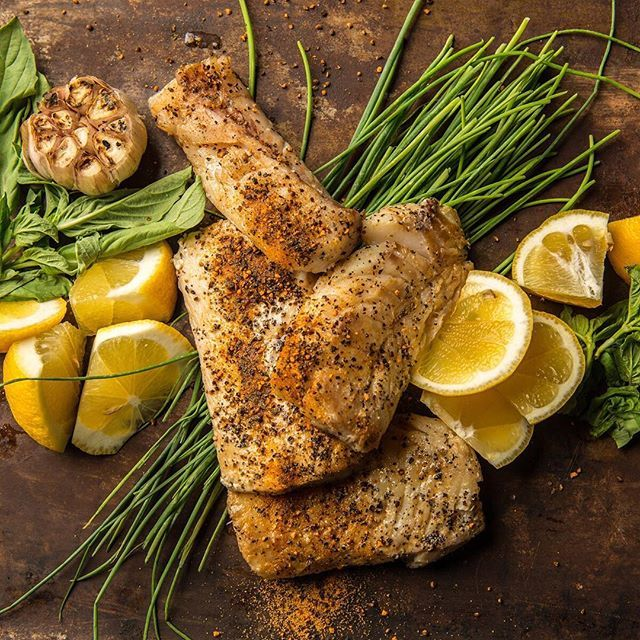 Roasted cod with meyer lemon herb butter our wood fired for Herb cod recipe