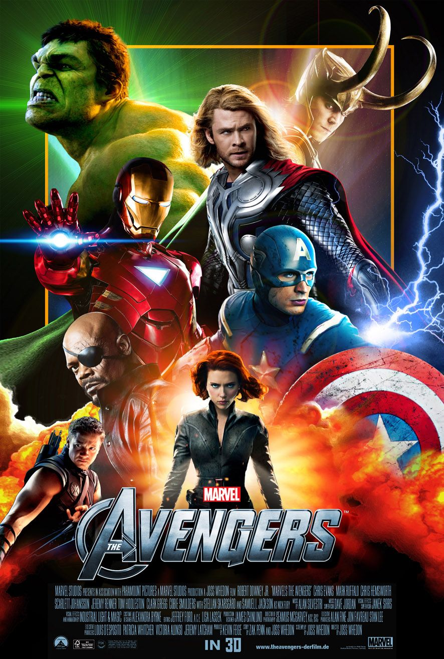 Avengers All Movie Poster