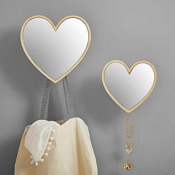 Gold Heart Hooks | PBteen