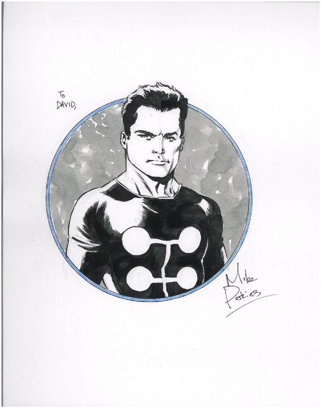 Madrox the Multiple Man X-factor Comic Art