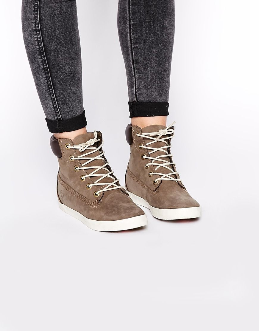 Timberland Earthkeeper Glastonbury Grey Chukka Boots at asosm Grey  ShoesWomens