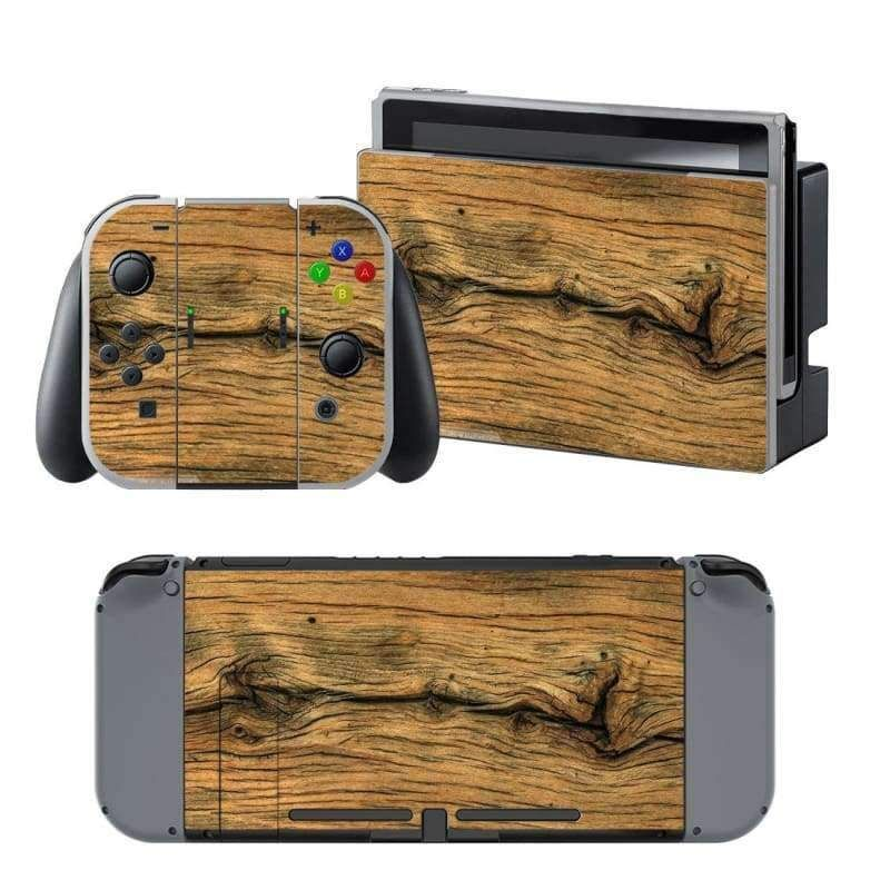 40c5e8dff32d3 Wooden board Nintendo switch Skin in 2019 | Products | Nintendo ...