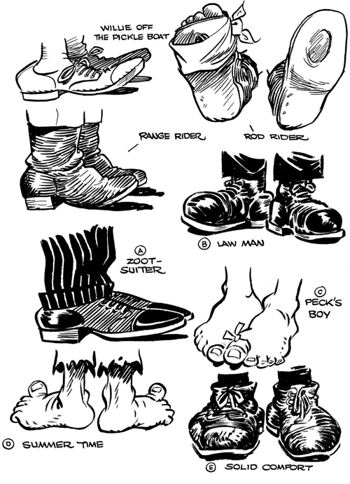 How to Draw Cartoon Feet & Shoes When Drawing Comics Cartooning Lesson -  How to Draw Step by Step Drawing Tutorials