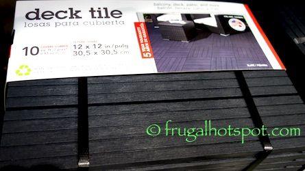 deck tile interlocking deck tiles