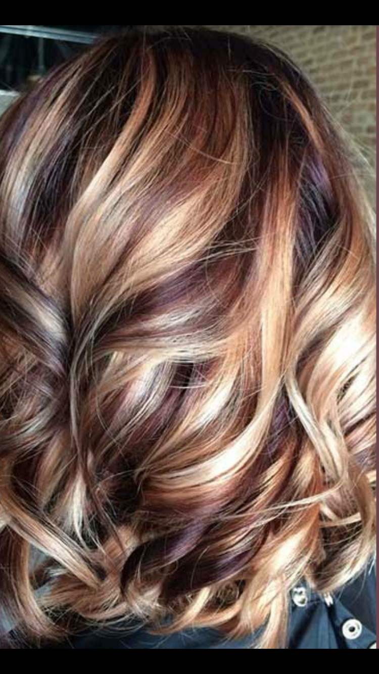Ribbons Of Color Hair Nails Make Up Curly Hair Styles