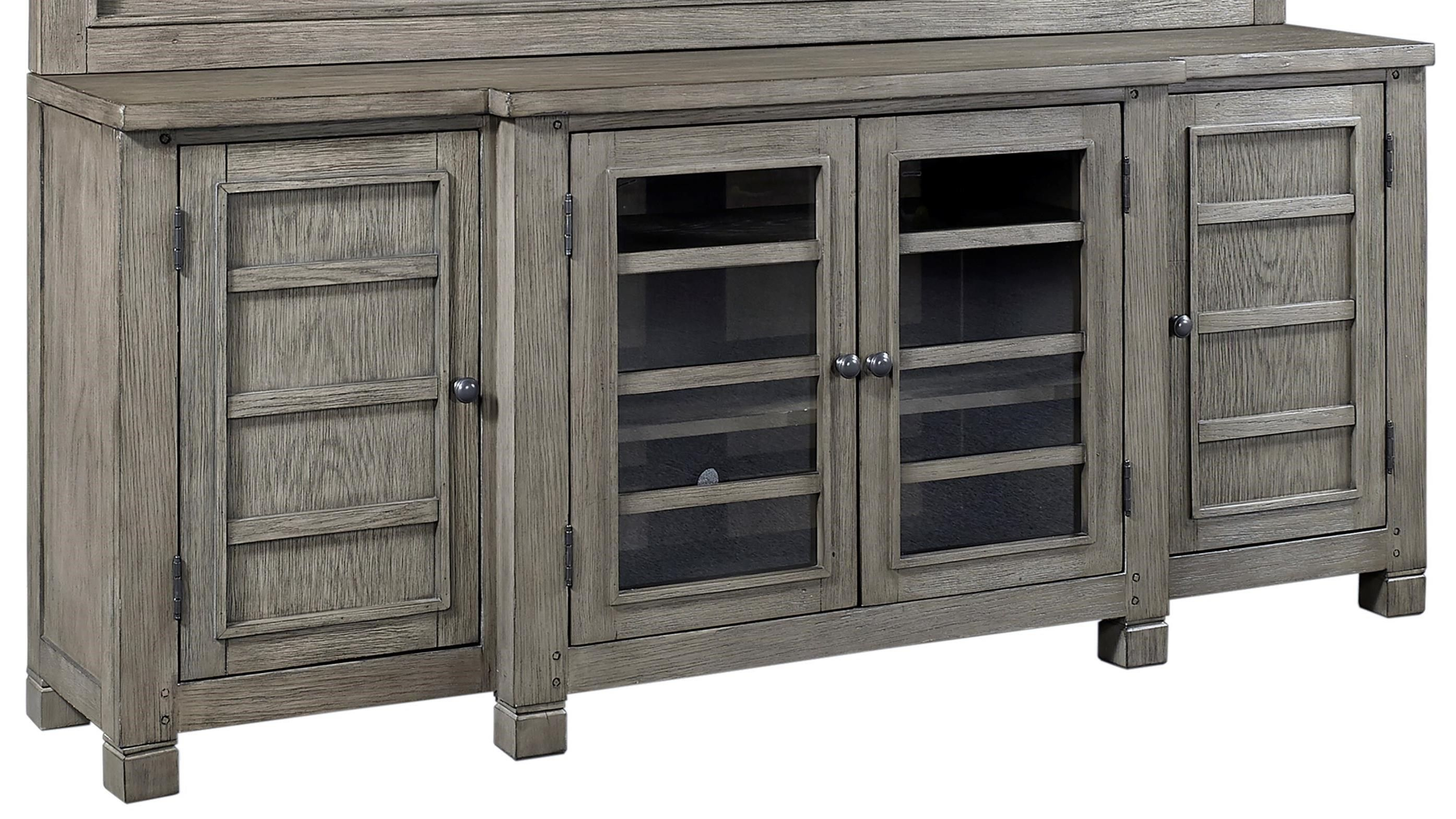 """75"""" Console with Adjustable Shelving Hudson furniture"""