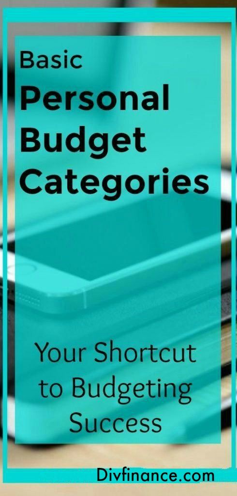 basic personal budget categories your shortcut to budgeting success