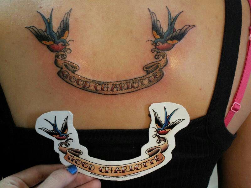 Good charlotte tattoo tattoos charlotte tattoo