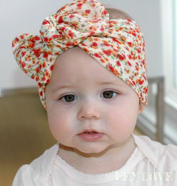 Baby Turbans Baby Turban Tie Knot Head Wrap Headband