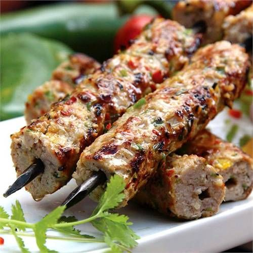 تحضير كباب مشوي على الفحم لبناني كباب مشوي على الفحم Food Kebab Real Food Recipes