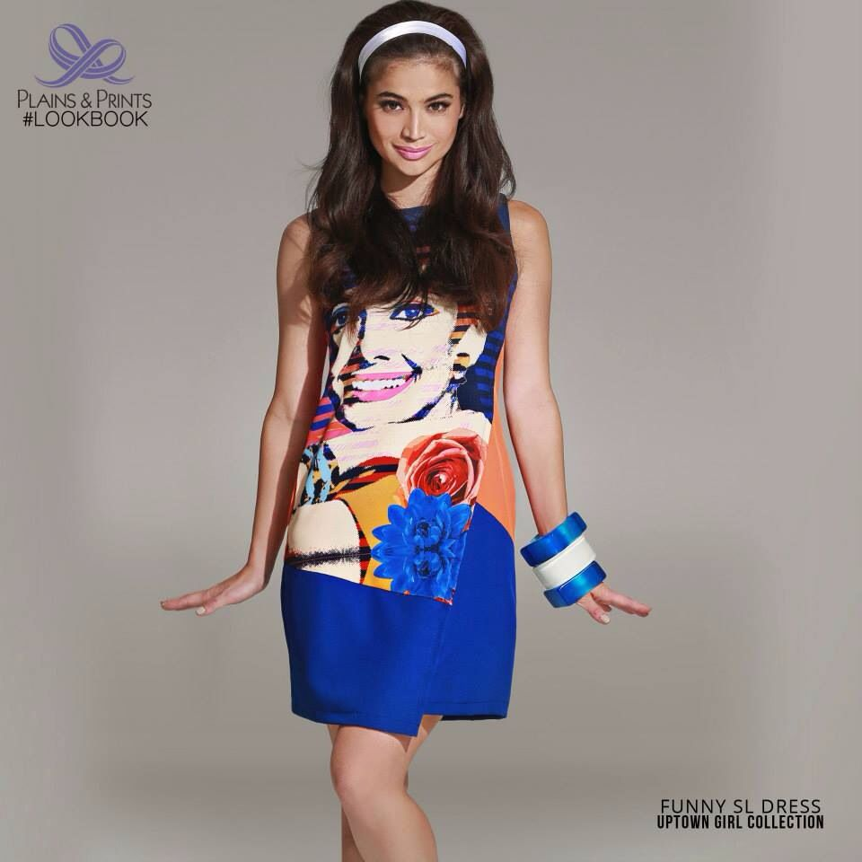 Anne Curtis for Plains & Prints Uptown Girl collection