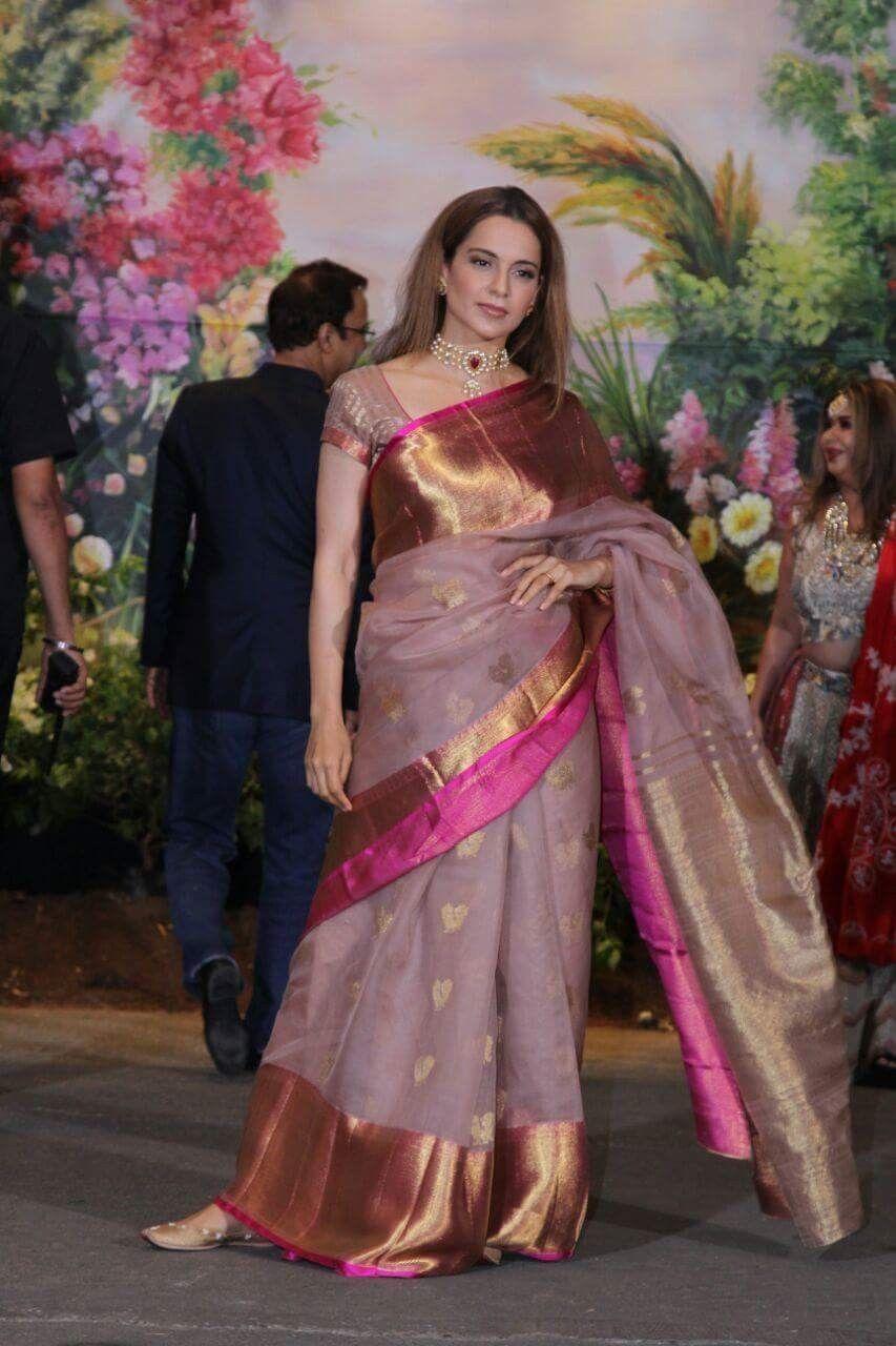 Indian Designer Saree Readymade Saree Organza Saree Bollywood Saree For Women Purple Sari
