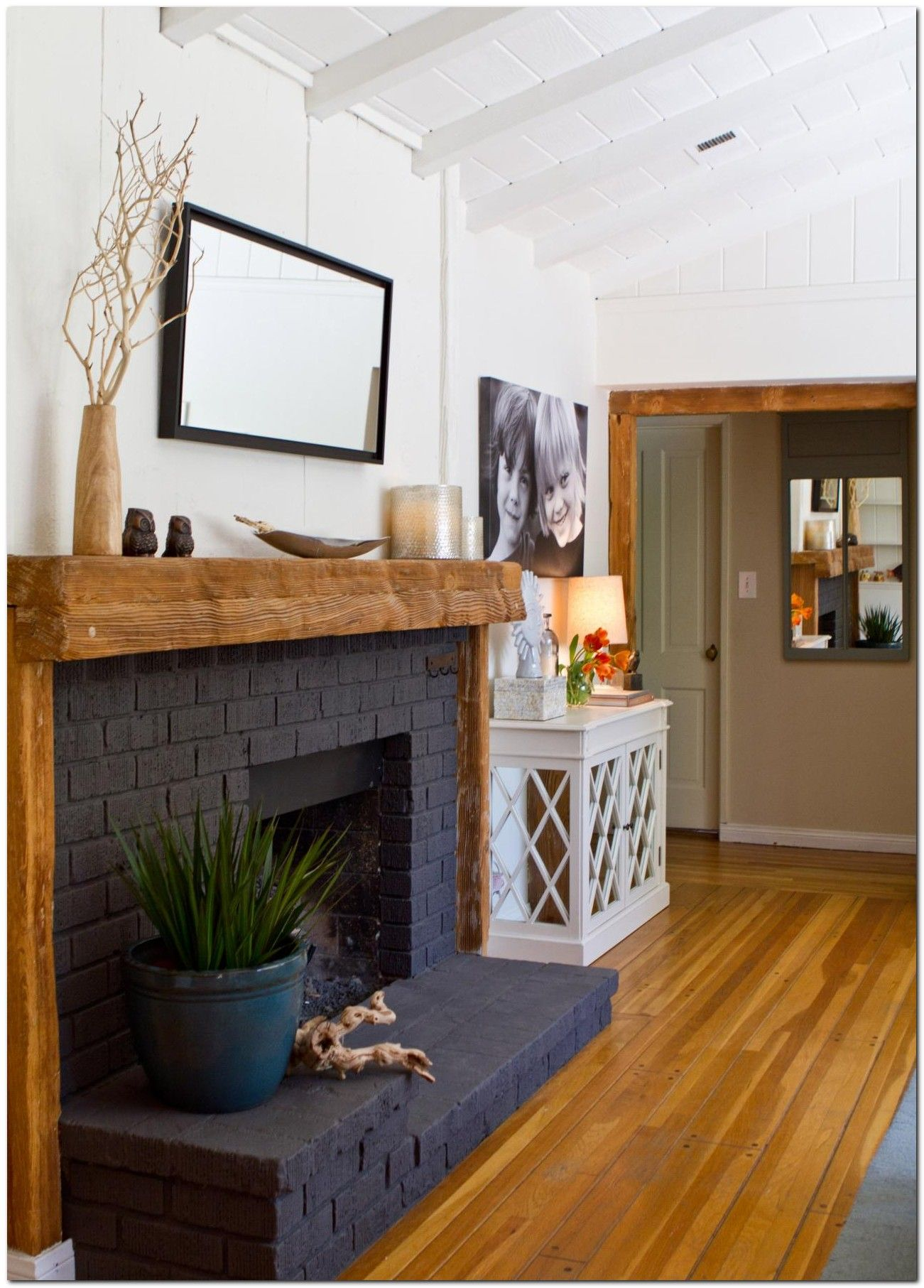 Attraktiv 80+ Classic Brick Fireplace Ideas