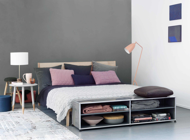 D coration chambre coucher meuble de rangement bas usm haller chambre coucher - Rangement de chambre a coucher ...