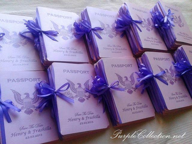 Top 25 ideas about Passport Invitations – Passport Wedding Invites