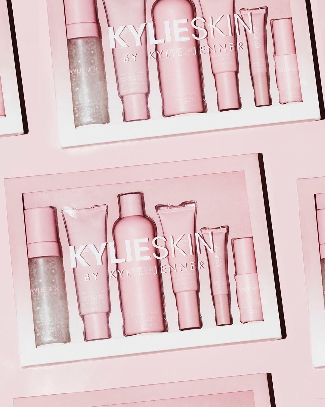 Kylie Skin Set In 2020 Skin Cosmetics Kylie Jenner Makeup Collection Kylie Jenner Makeup