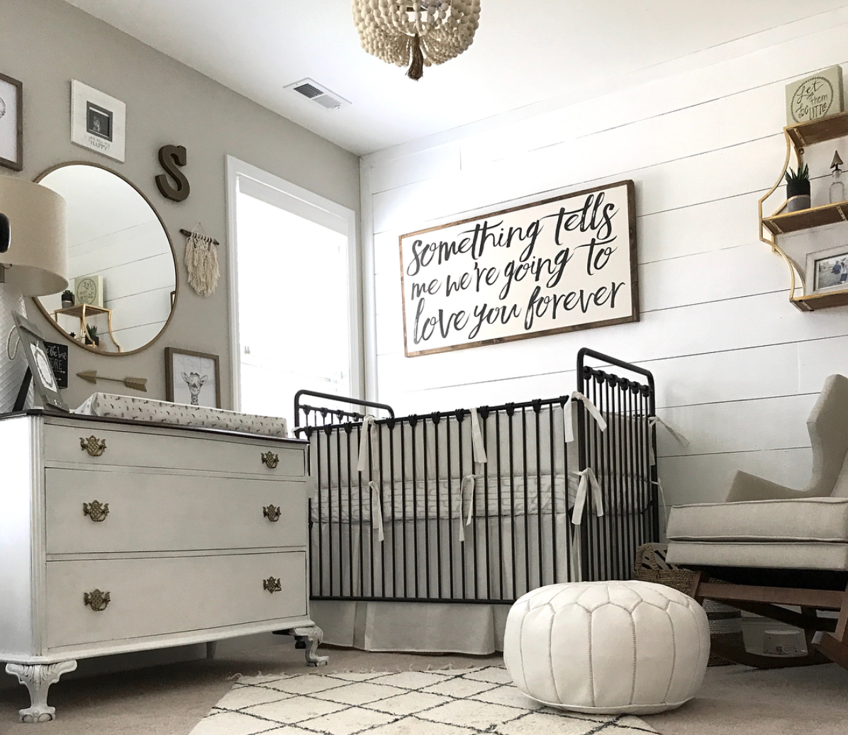 13 Wall Designs Decor Ideas For Nursery: Pin On Rooms + Decor •• Little Ones