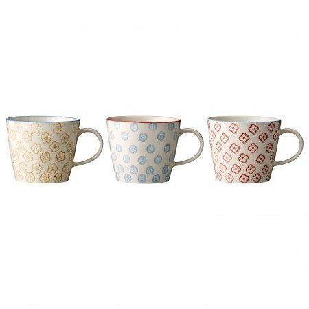 "3 cups ""Emma"",  Bloomingville"
