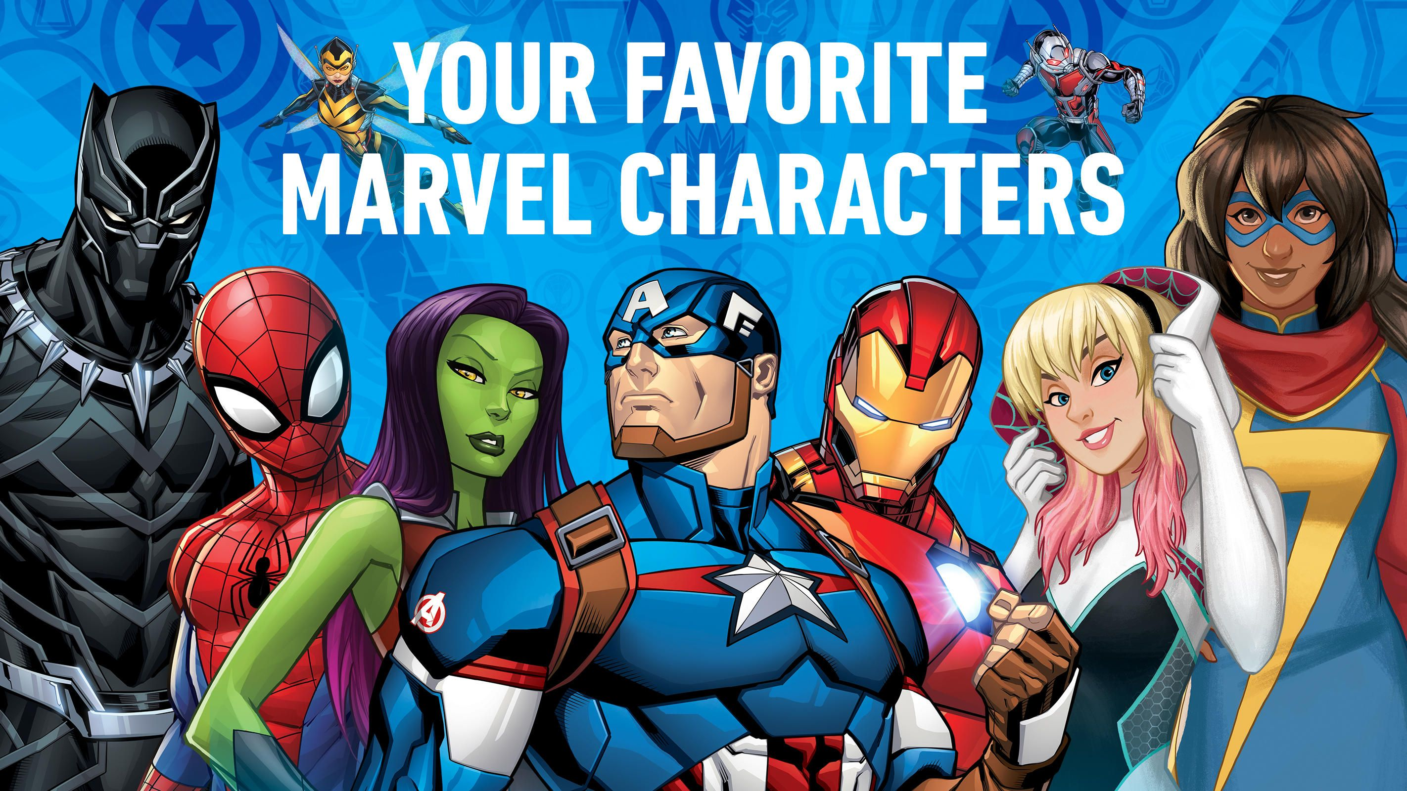 The Marvel Hq App Is Available For Kids And Families Now