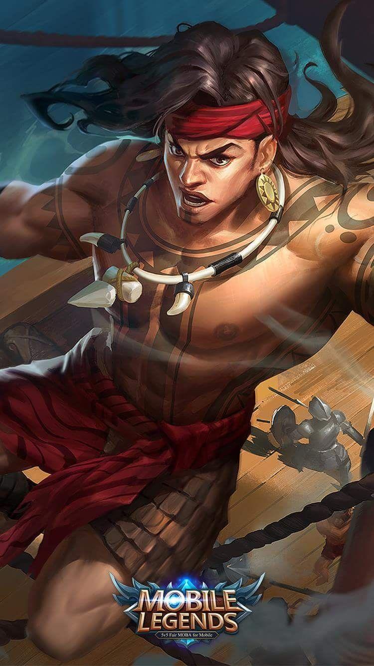 Lapu Lapu Great Chief Mobile Legends Mobile Legend Wallpaper The Legend Of Heroes