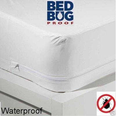 Dry Defender Zippered Vinyl Mattress Protector Heavy Duty Mattress Covers Waterproof Mattress Cover Waterproof Mattress