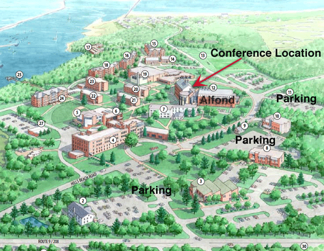 University Of Maine Campus Map Aroostook County Maine