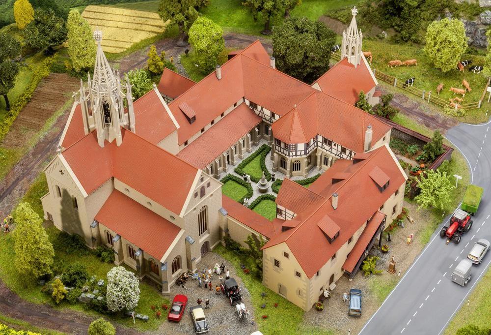 faller 130816 h0 kloster bebenhausen hochzeit hauset. Black Bedroom Furniture Sets. Home Design Ideas