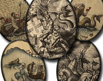 sea monsters maps - Google Search