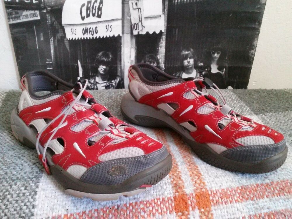738e7de36 Advertisement)eBay- THE NORTH FACE HEDGEFROG RED/GREY MULTI-SPORT ...