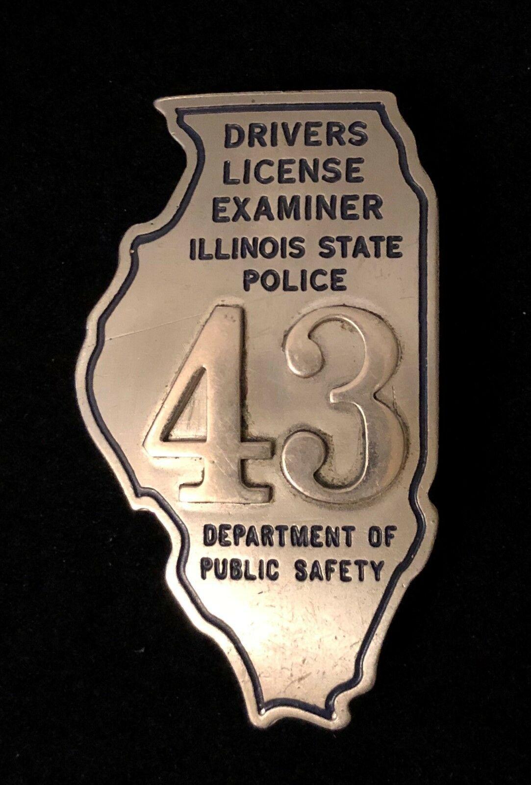 Driver License Examiner, Illinois States Police