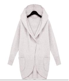 Dámský teplý zimní cardigan BÍLÝ – VELIKOST L Na tento produkt se vztahuje  nejen zajímavá sleva 8f2b8ba77b