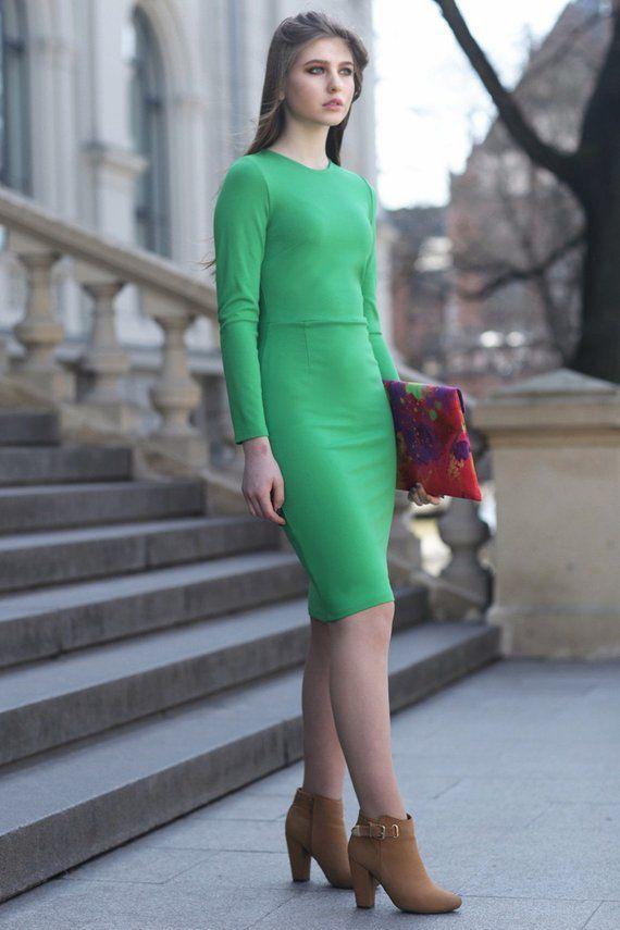 6aa5c5de978 Green Dress