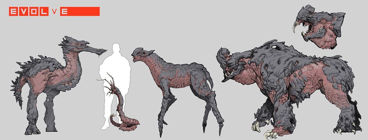 ArtStation Chimera, Stephen Oakley | Ilustração de monstro