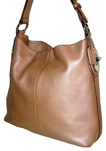 48d115ac4056 COACH Penelope Dune Pebbled Leather Shoulder Hobo Bag. Starting at ...
