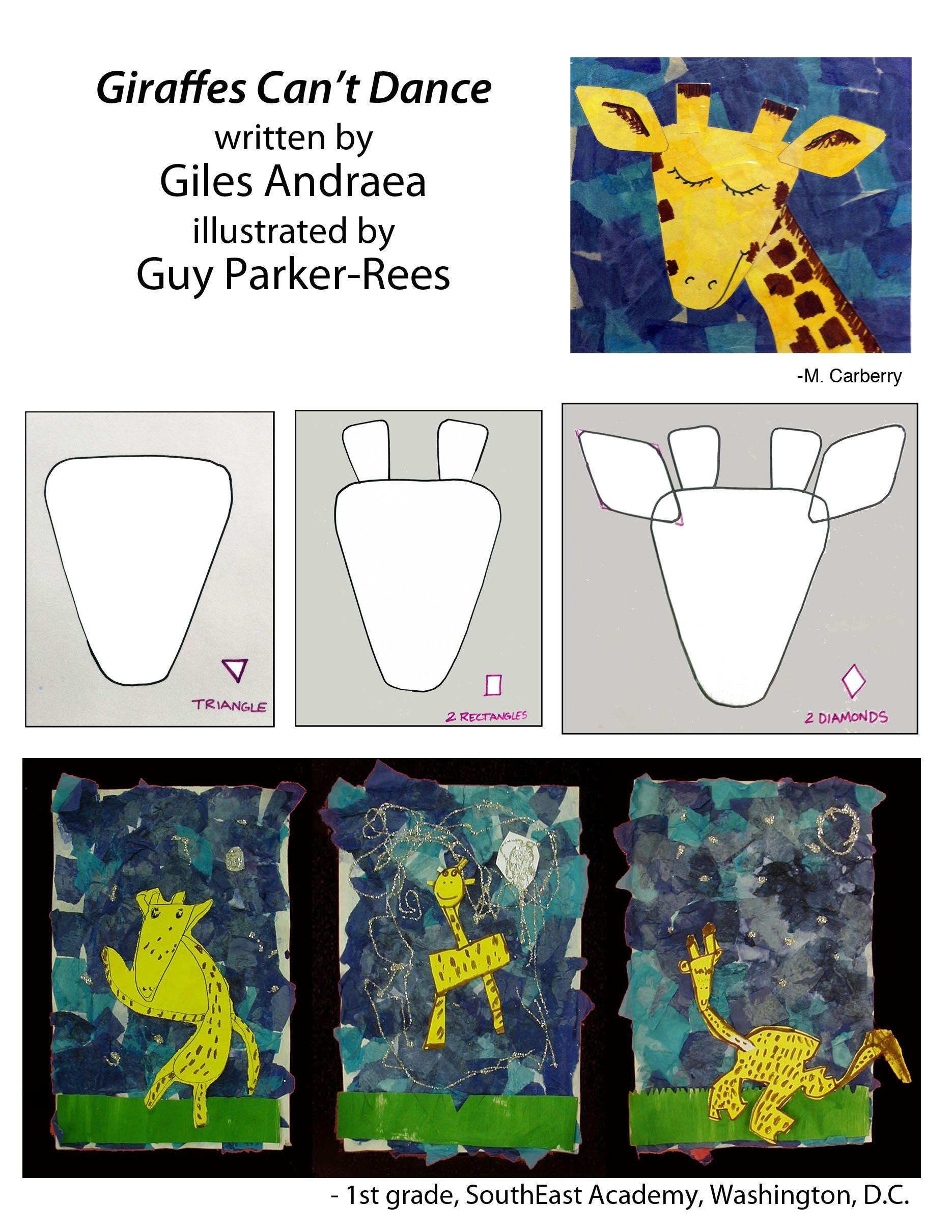 1st Grade Inspired By Giraffes Can T Dance Brown Marker On Yellow Construction Paper Tissue Collage Background Giraffes Cant Dance Kids Art Class Giraffe [ 2420 x 1870 Pixel ]