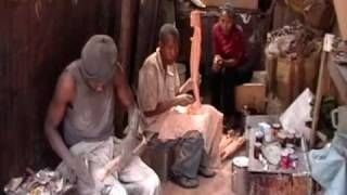 Jedando Handicrafts Making Wood Products Machakos Kenya Via