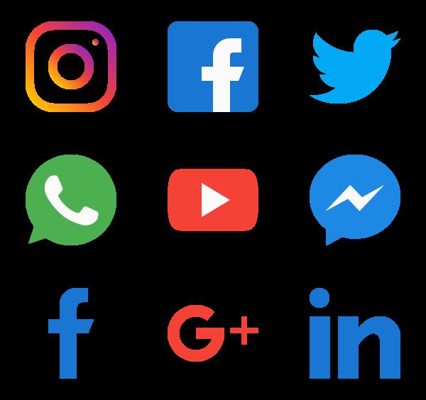 775 Icon Packs Of Social Media In 2020 Social Media Icons Social Icons Free Icon Packs