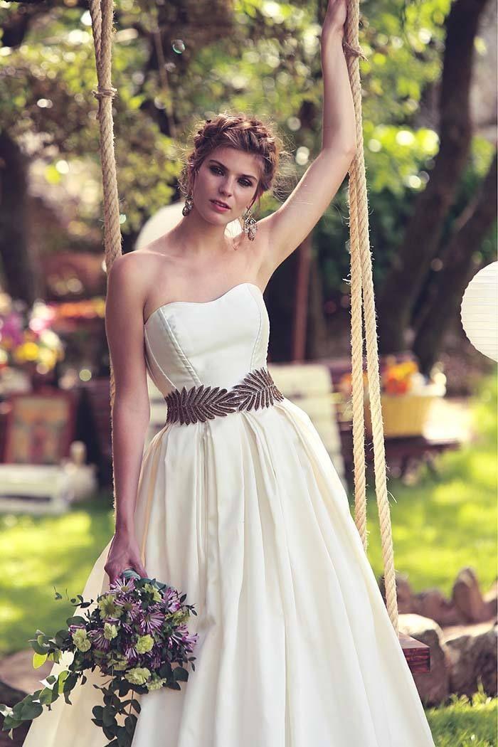 vestidos de novia a medida de diseñadora española | colección