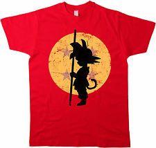 Goku luna t-shirt Dragonball camisa Super Saiyajin Piccolo Vegeta son Gohan