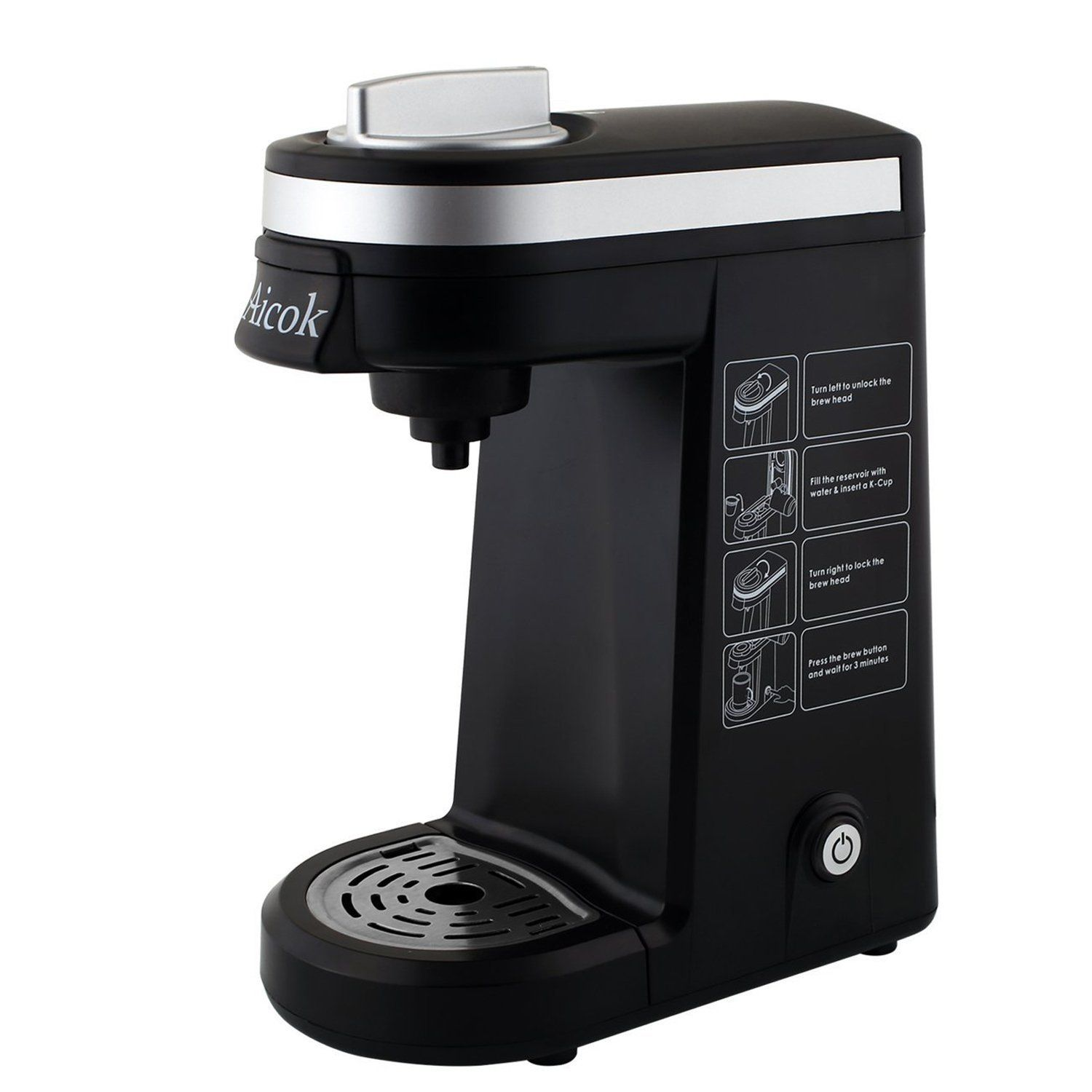 Ai Single Serve K Cup Coffee Maker Review More Details Here