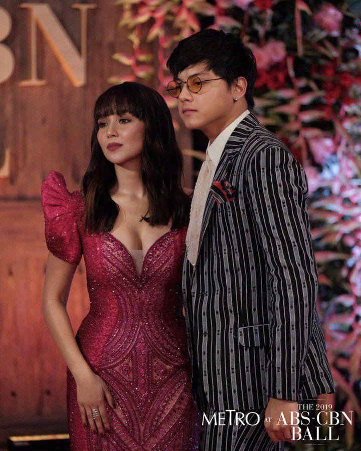 Kathryn Bernardo and Daniel Padilla ABS CBN Ball